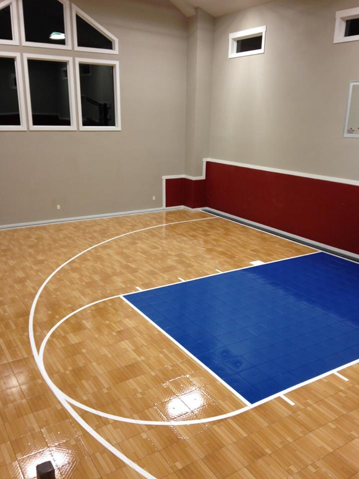 indoor residential practice courts